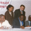 Government Licence Signing – 2001
